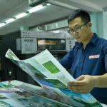 Những vấn đề về bộ phận nạp và cung cấp mực trong in OFFSET
